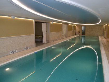 "Бассейн в гостинице Park Hotel ""Philipp"""