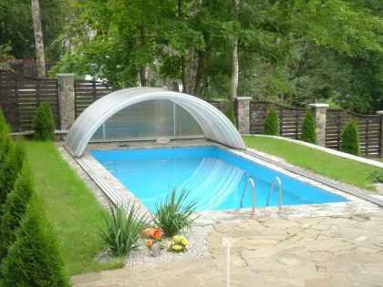 Уличный бассейн в частном доме 6,00 х 3,00 м