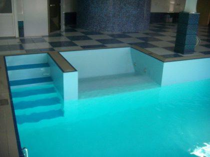 Бассейн в частном доме 6,50 х 5,00 м