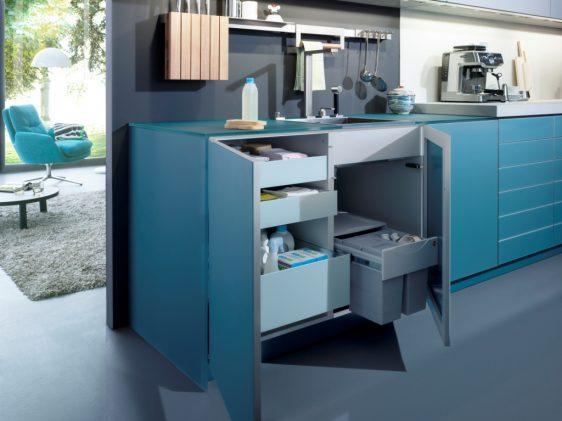 Кухни Leicht LARGO-FG | IOS-M – свежий микроклимат в помещении.