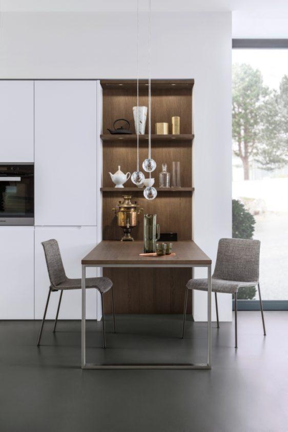 Кухня Pur-fs Topos отличается невероятно функциональным дизайном.