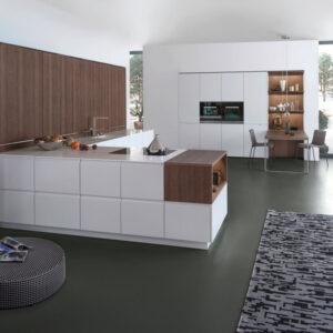 Кухня Pur-fs Topos – стильная и лаконичная.