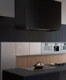 Кухня Leight Synthia-Ios-Largo по своей структуре четкая и уточненная.