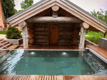 Гидромассажный СПА бассейн — Vitality pool