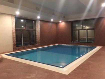 Комбинация: плавательный и массажный СПА бассейн