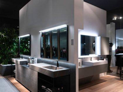 Цвет в современной ванной комнате: 4 коллекции Idea Group для 4 стилей мебели