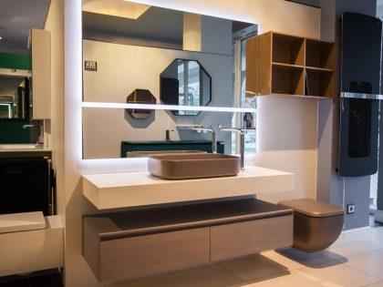 Новогодние скидки на сантехнику и мебель  в салонах Sanilux и Sanilux Home