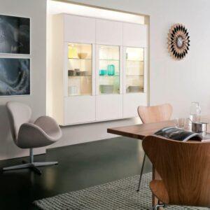 Кухни Leicht ORLANDO | LUNA – модная комбинация материалов