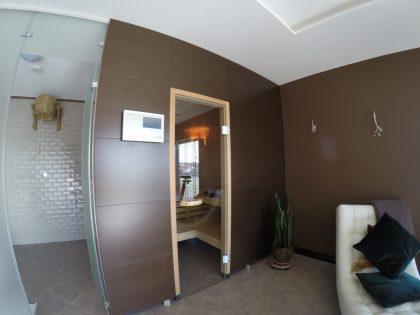 Сауна KLAFS Premium в частном доме с отделкой WENGE