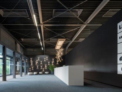 Стенд фабрики Leicht на выставке ARCHITEKTURWERKSTATT 2019