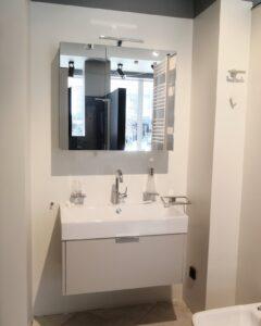 Мебель для ванной комнаты, зеркалный шкаф