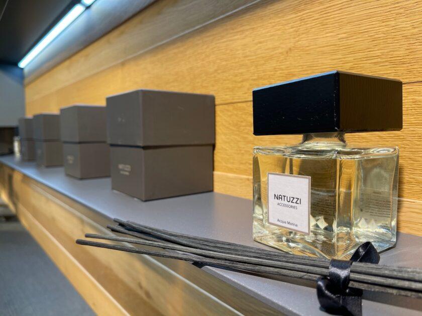 Парфюмированные ароматы для дома от Natuzzi Italia