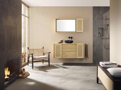 Новые серии для ванной комнаты LIN20 и MAX от Burgbad